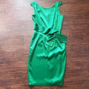CHARLOTTE RUSSE Sleeveless shiny dress, sz 7
